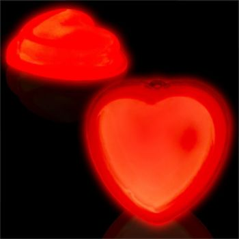 RED HEART GLOW SHAPE