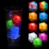 LED Lited Ice Cubes- 12 Pack