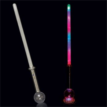 Multi-Color LED Sword with Strobe - 28 Inch
