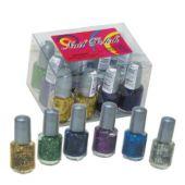 Glitter Nail Polish - 12 Pack
