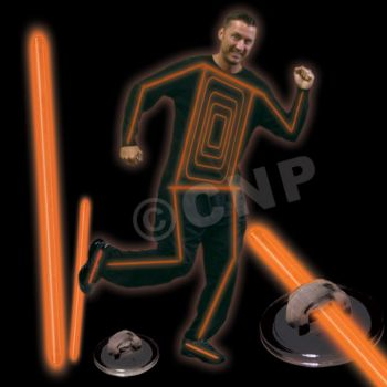 ORANGE GLOW COSTUME KIT