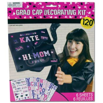 GRADUATION CAP DECORATING KIT