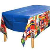 International Flag Table Cover