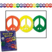 Peace Sign Garland
