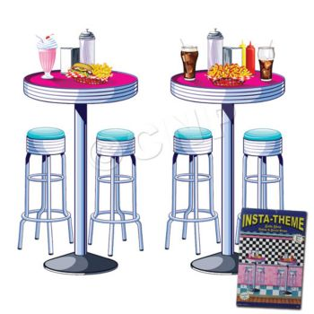 Soda Shop  Table Props
