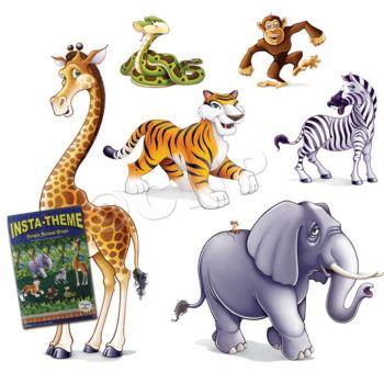 Jungle Animal  Add On Props