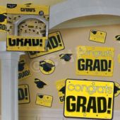 Yellow Graduation Cutouts
