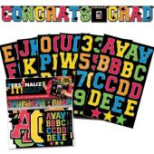 Graduation Letter Custom Banner Decoration