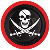 "Pirate Party 9"" Plates - 8 Pack"