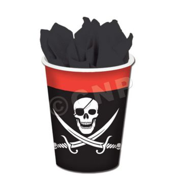 PIRATE PARTY 9 oz. CUPS