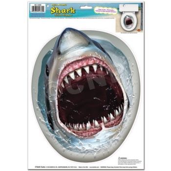 SHARK TOILET TOPPER
