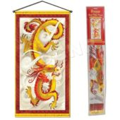 Chinese Dragon Door Panel