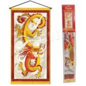 Chinese Dragon Door Panel
