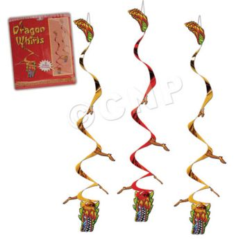 CHINESE DRAGON WHIRLS