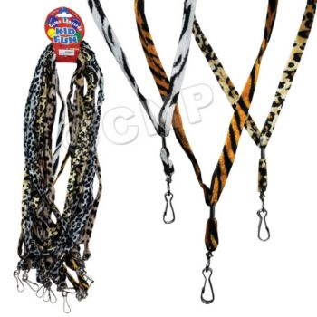 ANIMAL PRINT LANYARDS