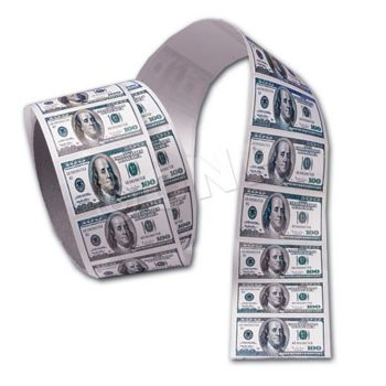 $100 BILL STICKERS