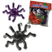 Spider Spin Tops - 12 Pack