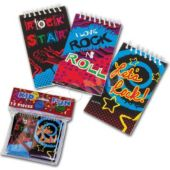 "Rock Star 3 7/8"" Note Pads - 12 Pack"