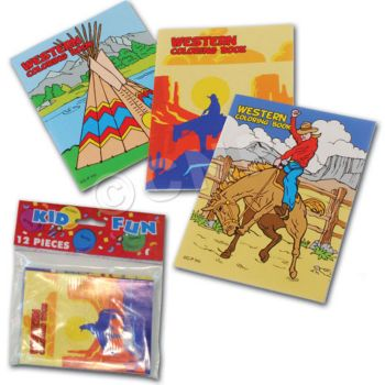 WESTERN COLORING BOOK