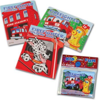 Firefighter  Coloring Books