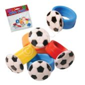 Soccer Ball Rings - 12 Pack