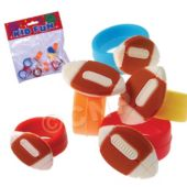 Football Rings - 12 Pack