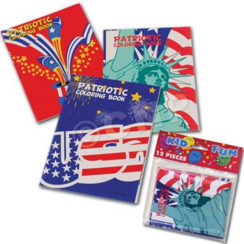 PATRIOTIC COLORING BOOKS