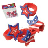 Patriotic Rubber Rings