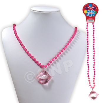 PINK LIPS PENDANT NECKLACES