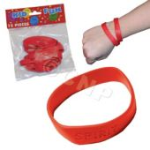 Red Spirit Bracelets, 12 Pack