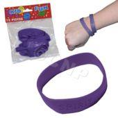 Purple Spirit Bracelets, 12 Pack