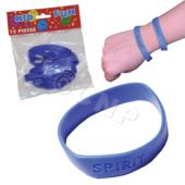 Blue Spirit Bracelets, 12 Pack