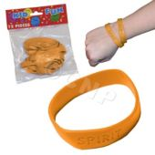 Orange Spirit Bracelets, 12 Pack