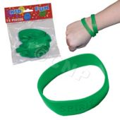 Green Spirit Bracelets, 12 Pack