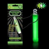 "Green 4"" Glow Stick -Retail Pack"