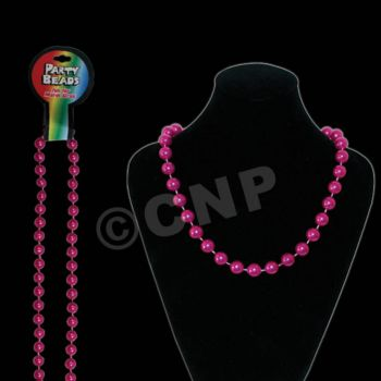 Pink Pearls Bead Necklace - 60 Inch