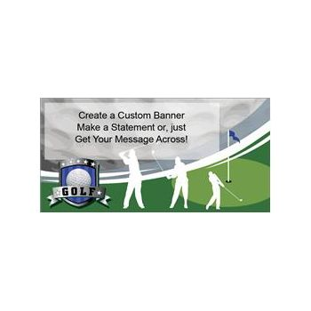 Golf Club Custom Banner