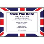 British Royal Party Personalized Invitations