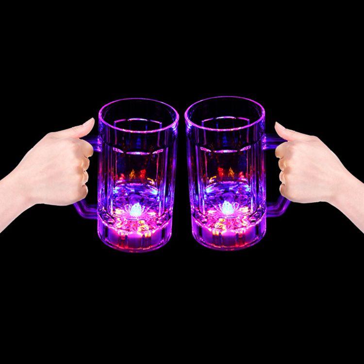 LED Beer Mug-14oz LIT808EA