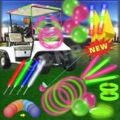 Night Golf Pink And Green Scramble Pack For 60 Players