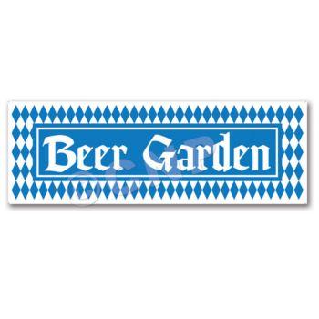 BEER GARDEN SIGN