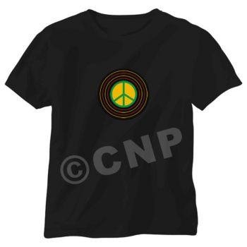 Peace Sign LED T-Shirt