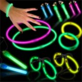 Assorted Color Supreme Glow Mega Party Pack - 56 Pieces