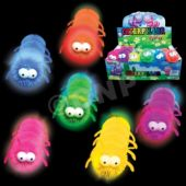 Multi-Color LED Caterpillars - 8 Inch, 12 Pack