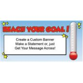 Reach Your Goal Custom Banner