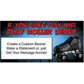Roller Derby Custom Banner