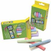 "3"" Colored Chalk Dozen Packs-12 Pack"