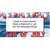 4th Of July Celebration Custom Banner