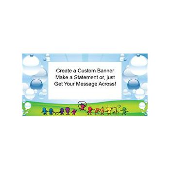 Sunny Days Custom Banner (Variety of Sizes)