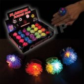 Porcupine Shaped LED Jelly Rings